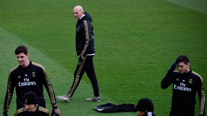 Zidane, Real Madrid Wajib Pertahankan Performa Baik Tim